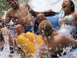 At the Water Park