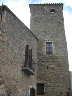 View of Can Torre from Pedestrian Street