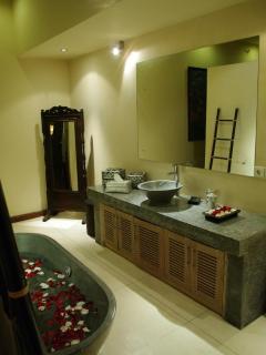 Inside Bathroom of Villa Ketumbar