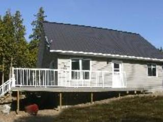 300' lakefront, private on 20+ acres, Sat TV, Family/Pet Friendly – semesterbostad i Spring Bay