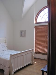 Master bedroom as you enter the room