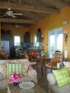 Main House kitchen and dining room