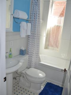 Bright Bathroom on 2nd Floor