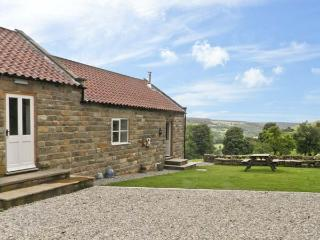 MOORS EDGE COTTAGE, pet friendly, country holiday cottage, with open fire in