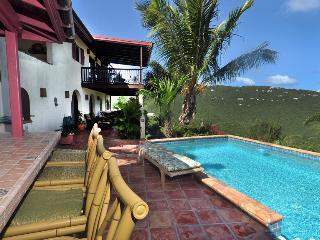 St. John Villa Rental with pool, Coral Bay