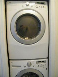 Large Washer & Dryer in Penthouse