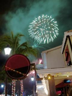 Port Lucaya on New Year's Eve