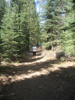 Trail behind house - 1.5 miles to Old Town Truckee