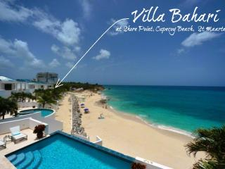 BAHARI... breathtaking sunsets from this fabulous beachfront villa at Shore