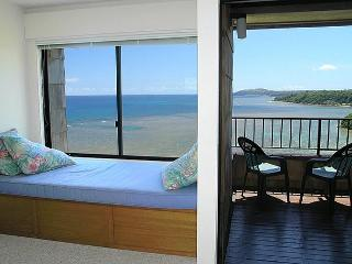 Sealodge E8: Oceanfront 1br/1ba with great views at a bargain price., Princeville