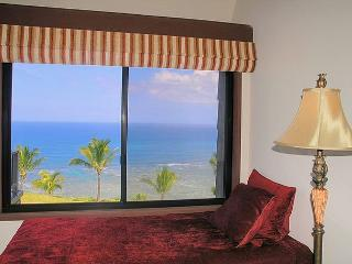 Sealodge F9: Ocean front views from the only top floor condo in the building!, Princeville