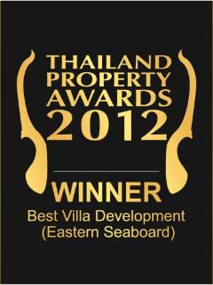 Best Villa award winner 2012.