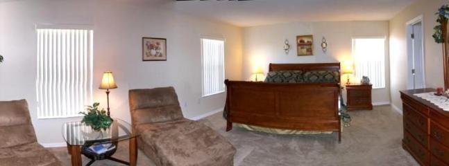 Master bedroom panoramic view