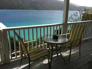 Large beachfront studio, on Magen Bay- water acces, St. Thomas