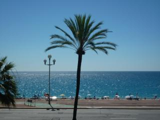 The wonderful blue sea and sky of South France from your apartment!