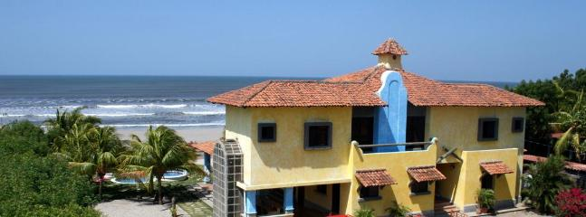 Panoramic view of Pochomil Beach vacation home SOLYAR