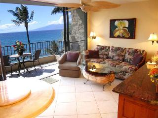 Summer $149nt - Luxury Ocean Front Paki Maui King One Bedroom Onyx Granite Burl