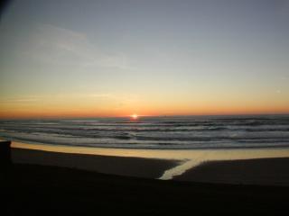 Fabulous sunset and beach views
