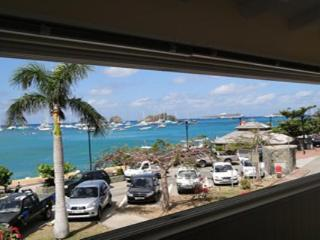 Located at the entrance of Gustavia overlooking the harbor WV OSS
