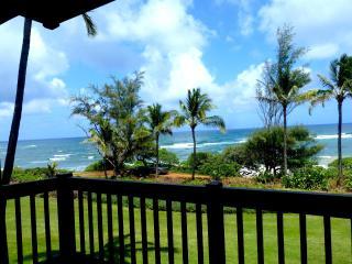 Beautiful Oceanfront, Kaha Lani 223, Kapaa Kauai