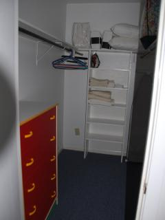 Walk-in Closet with dresser