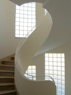 Stair case, so elegant you don't take the elevator