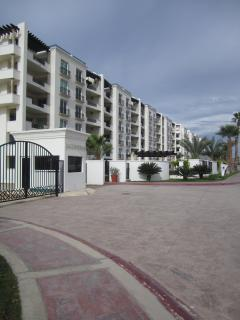 Our condo complex as we are walking up from beach area