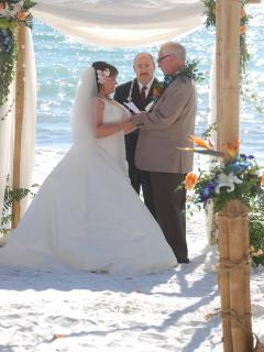 Beach Wedding on our property