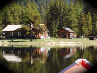 montana family reunion retreat,3 cabins,lake,river, Troy