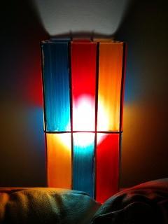 A design light bedroom hand made