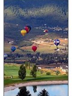 Summer Hot Air Balloon Festival