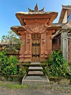 Original Balinese Entrance Door