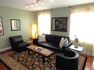 LIVING ROOM  WITH QUEEN SOFA BED AND TWIN SLLEEPER