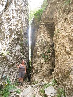 carsic chasm near Capanne di Careggine