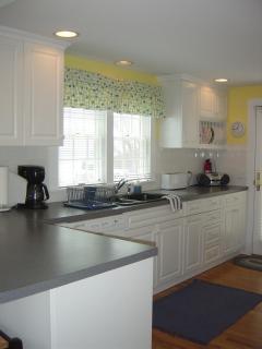 Kitchen also overlooks ocean!