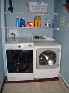 Laundry Room with hi efficiency, new, silent equipment