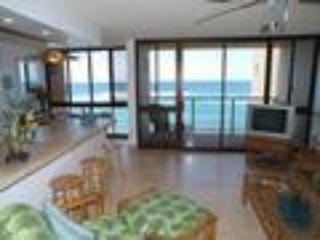 Kuhio Shores,Oceanfront 1BR/1BA, full kitchen, Poipu