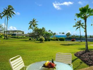 Kahala Poipu Kai 312, 2/2 with A/C in living area steps from Poipu Beach