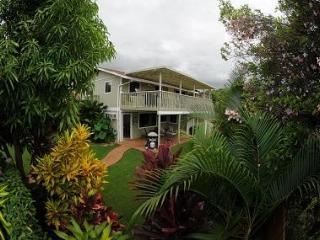 Beautiful foliage surrounds the property
