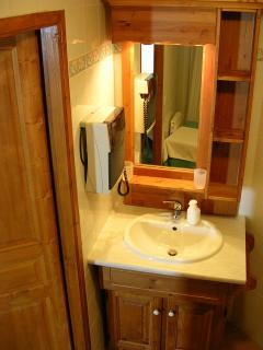 Chalet Chardon Belle Plagne, Bathroom