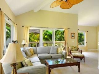 Regency 621 - Central AC, 3 bedroom/3 bath within walking distance to Poipu Beach! Pool, hot tub.