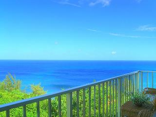 Alii Kai 5301: Gorgeous remodeled top floor corner, 2br/2ba, oceanfront view!, Princeville