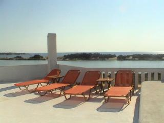 Naxos Waterfront Villa with Pool and Panorama View