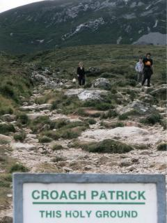 Climbing the Holy Mountain Croagh Patrick