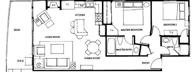 Villa Antigua Floorplan
