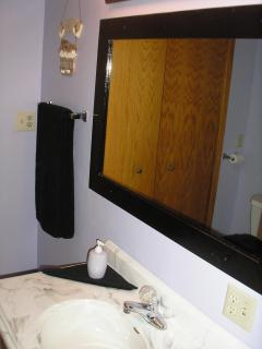 Large Vanity and mirror