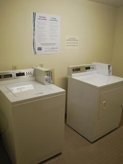 Convenient laundry facilities w/Magtag washer/dryer!