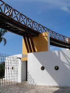 Gated comunity entrance of Playa Mujeres Resort