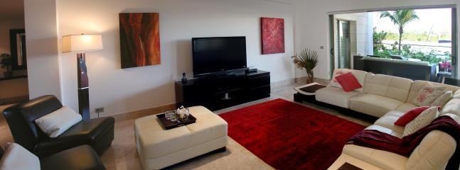Finely appointed living room