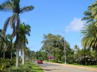 Entrance to Turtle Bay Resort